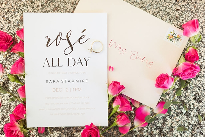 rose bridal shower | Katrina Jayne Photography | Glamour & Grace