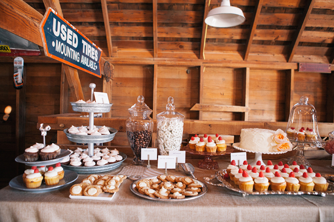 Dessert Table The Leekers Glamour Grace