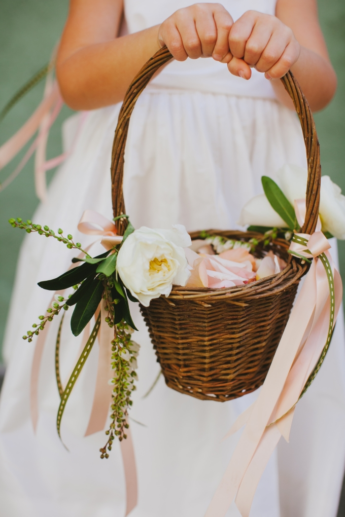 flower basket for wedding colorful modern handmade wedding amp grace 4132
