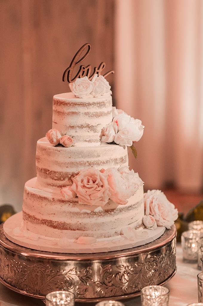 White Cake Elizabeth Henson Photos Glamour Grace Vintage Blush Wedding