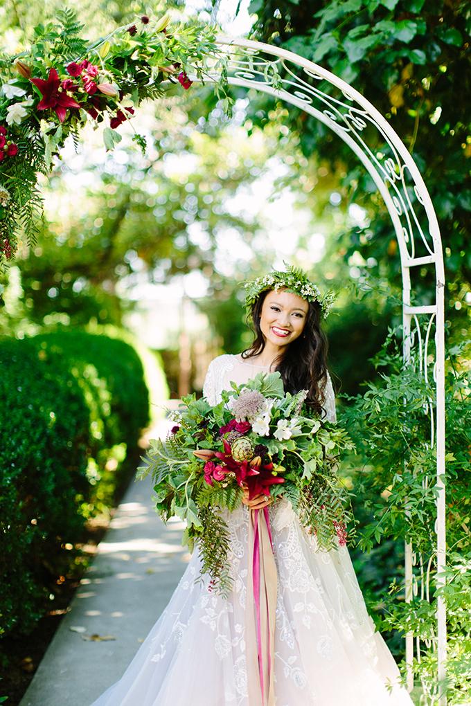 Vintage Jewel Tone Wedding Inspiration Glamour Amp Grace